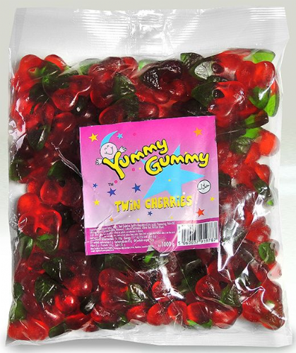 YUM12 Yummy/G Twin Cherries 1KG